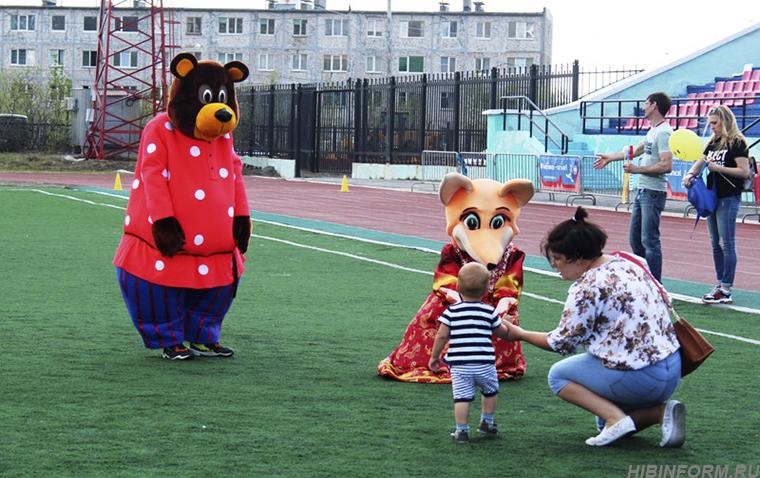 Большая детская спортивная тусовка в Кировске