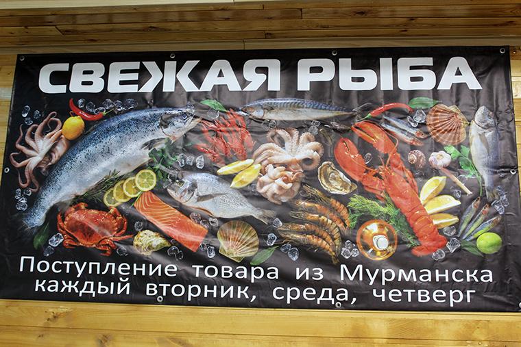 Вот она — рыба моей мечты. На Ферсмана, 20