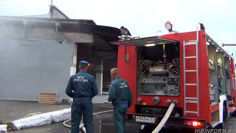 На апатитском хлебозаводе случился пожар
