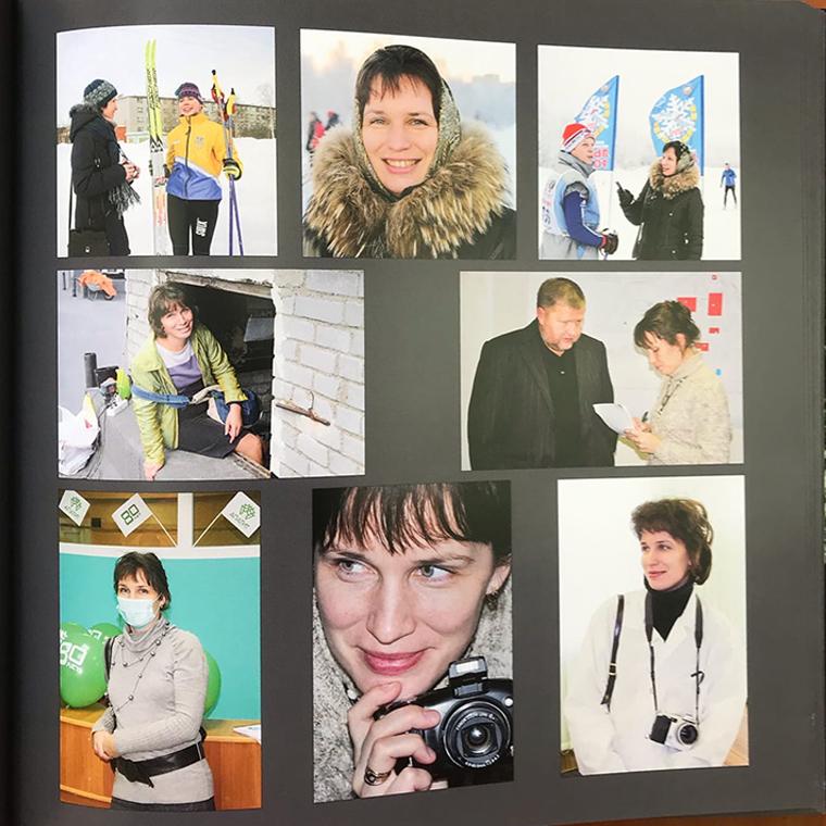 Полвека истории журналистики Хибин стали фотокнигой