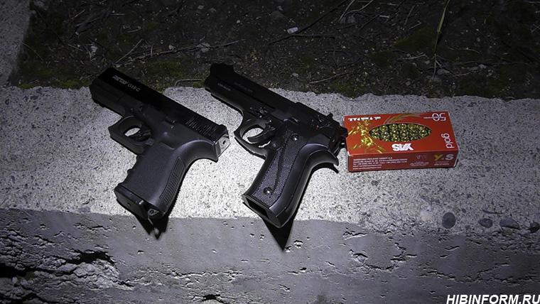 Ночная стрельба в Апатитах. Подробности