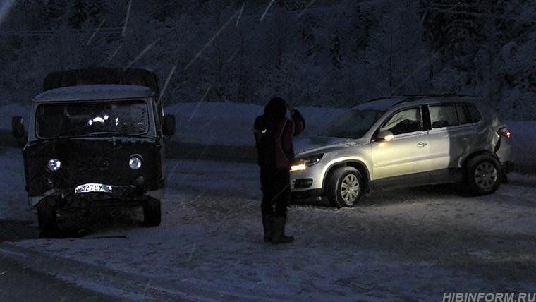 В ДТП на дороге Апатиты — Кировск пострадала женщина