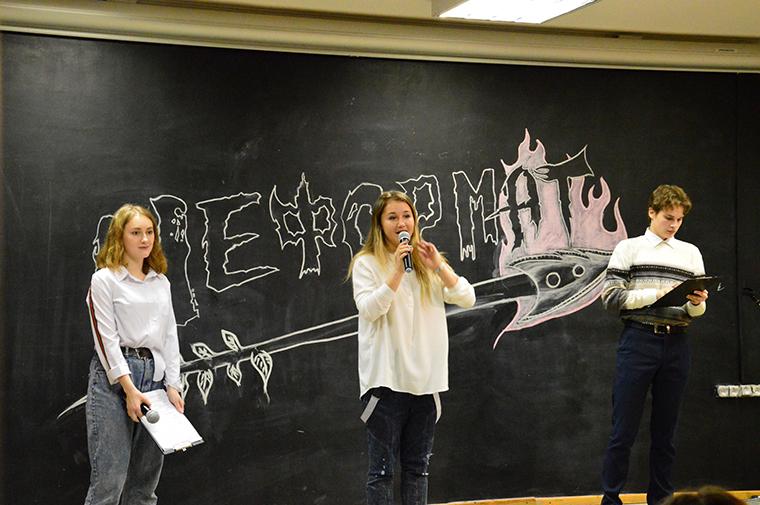 В Апатитах состоялся фестиваль молодёжного творчества «Неформат»