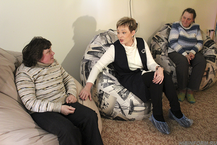 В психоневрологическом интернате губернатора встретили объятиями