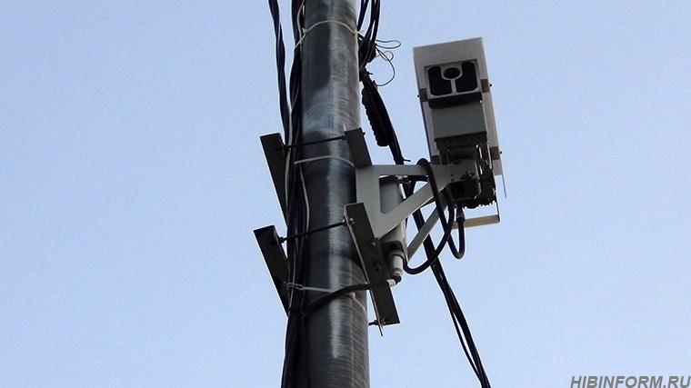 В Апатитах камера видеофиксации нарушений ПДД стала жертвой ДТП