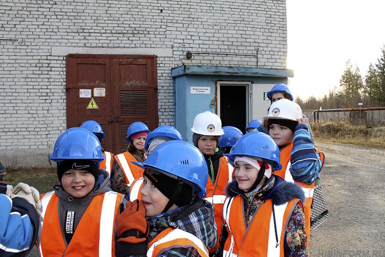 Школьный десант на «Водоканале»