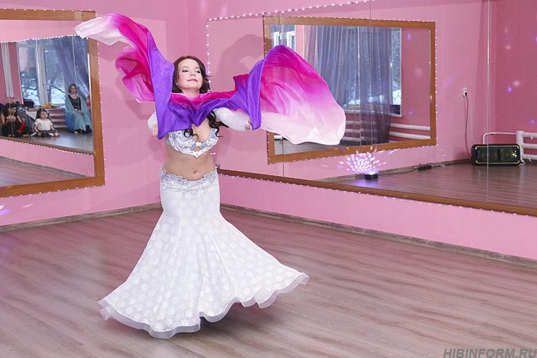 В Апатитах прошла закрытая вечеринка восточных танцев