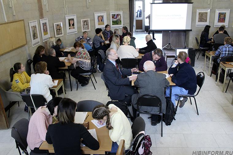 Сотня людей в Апатитах решила снова стать школярами и написать диктант